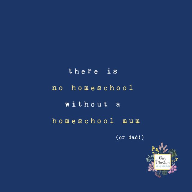 There is no homeschool without a homeschool mum | self care | homeschooling mum mom