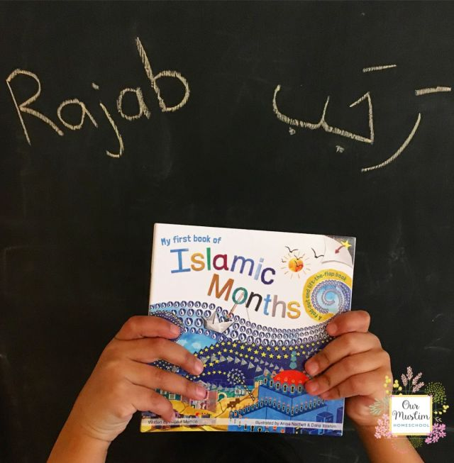 Islamic Calendar Rajab Activities
