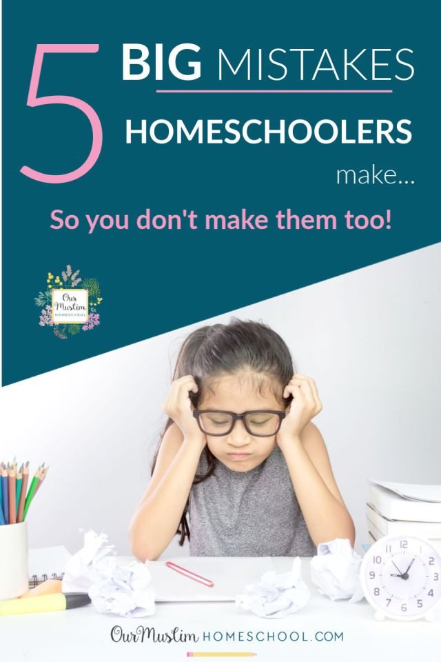 How to start homeschooling | 5 mistake homeschoolers make so you don't make them too!