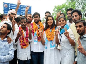ABVP wins students union elections