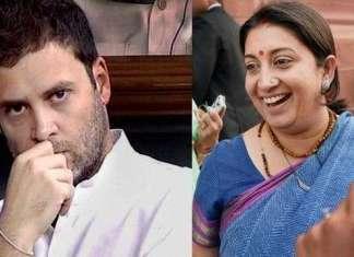 Smriti Irani takes 'Chota Bheem' jibe at Rahul, mocks Congress for deleting its app