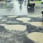 Nagpur Municipal Corporation to repair potholes from seized plastic