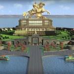 Shivaji memorial, Shivaji Maharaj statue