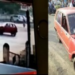 Innova hits another car near Chhatrapati Square,