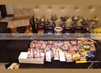 Hookah parlour raided at Chill Out Cafe in Nandanvan