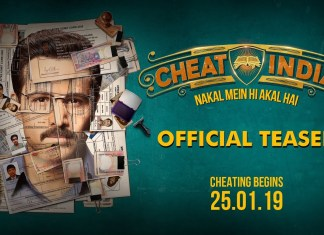 Cheat India Teaser