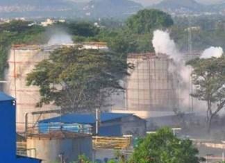 gas leaks at Andhra Pradesh