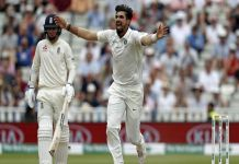 Ishant Sharma became the 3rd pacer from the country to take 300 wickets in Test cricket