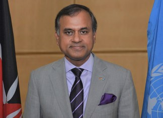Siddharth Chatterjee takes over as UN Resident Coordinator in China