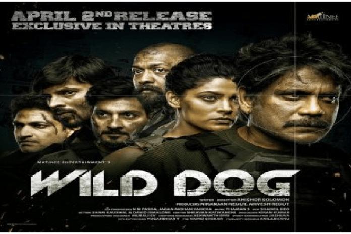 Nagarjuna in new movie 'Wild Dog'.