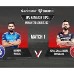 IPL 2021, MI vs RCB