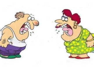 माफी मागण्यास नकार दिला म्हणून पतीच्या तोंडावर बसली १०१ किलो वजनाची पत्नी; पुढे घडला धक्कादायक प्रकार
