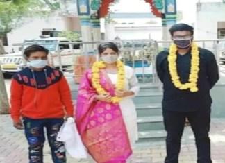 एकमेकांची तक्रार घेऊन आलेल्या कपलचं पोलिसांनी ठाण्यातच लावून दिलं लग्न
