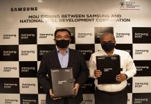 Samsung partners with NSDC to provide