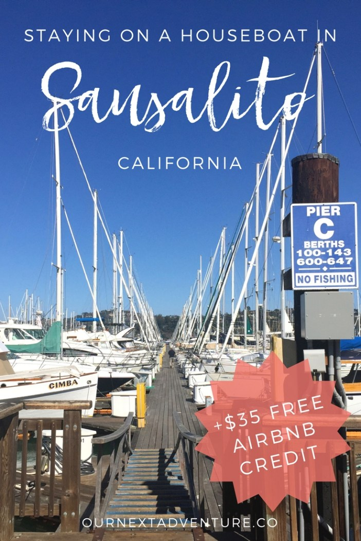 A unique Airbnb experience on a houseboat in Sausalito, just over the bay from San Francisco, California. #sausalito #sanfrancisco #california #unitedstates #airbnb // Family Travel | Travel with Kids | Vacation Ideas | Northern California | SF Bay Area | Unique Airbnbs | San Francisco Weekend Trip | Best Cities in California | Family Trip to Sausalito | Where to Stay in San Francisco | Family-Friendly Hotels | Best Airbnbs Sausalito | California Beach Towns | Sausalito Houseboat Airbnb