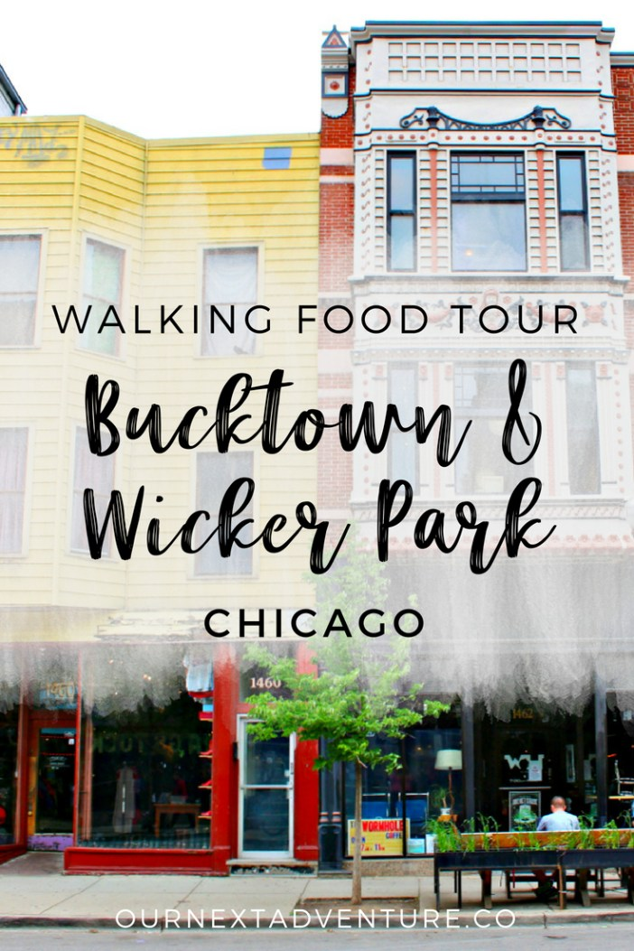 A walking food tour through Chicago's Bucktown and Wicker Park neighborhoods #chicago #familytravel // Family Travel | Where to Eat | Unique Things to Do | Travel with Kids | Cheap Eats | Chicago Itinerary | Foodies