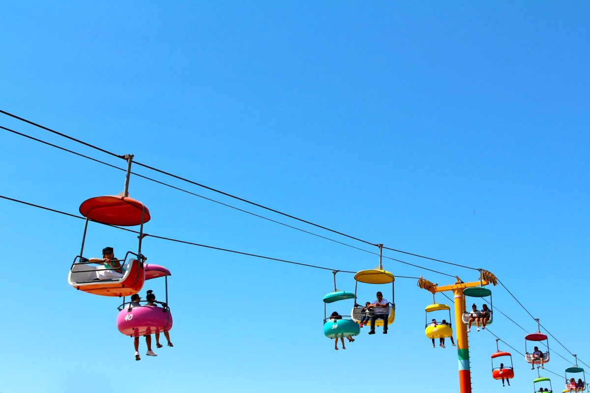 Scenes from the Santa Cruz Beach Boardwalk: fun for the whole family! | ournextadventure.co