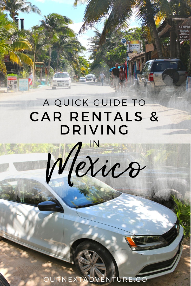 What we learned from 7 days of renting a car and driving in Mexico. // Family Travel | Travel with Kids | Cancun | Playa del Carmen | Tulum | Riviera Maya | Road Trip | Driving Rules | Adventure Travel