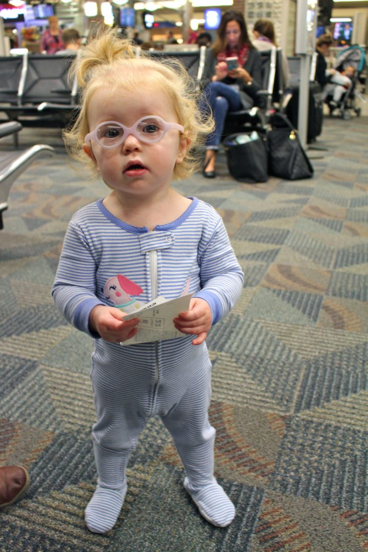 What to pack in your carry on when your baby's not quite a baby anymore, but not quite yet a toddler. // Carry On Packing | Family Travel | Travel with Kids | Flying with 1 Year Old