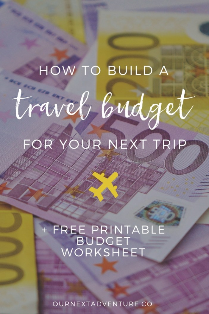 Tips for building a travel budget that works for you + free printable family travel planner. #familytravel #traveltips // Family Travel | Travel with Kids | Vacation Ideas | Where to Go | Kid-Friendly Trips | Family-Friendly Destinations | Free Printables | Packing List | Travel Budget | Vacation Checklist | Itinerary | Free Vacation Planner | Travel Savings Plan | How to Budget | Cheap Travel Tricks | Cheap Flights | Affordable Hotels | Free Things to Do