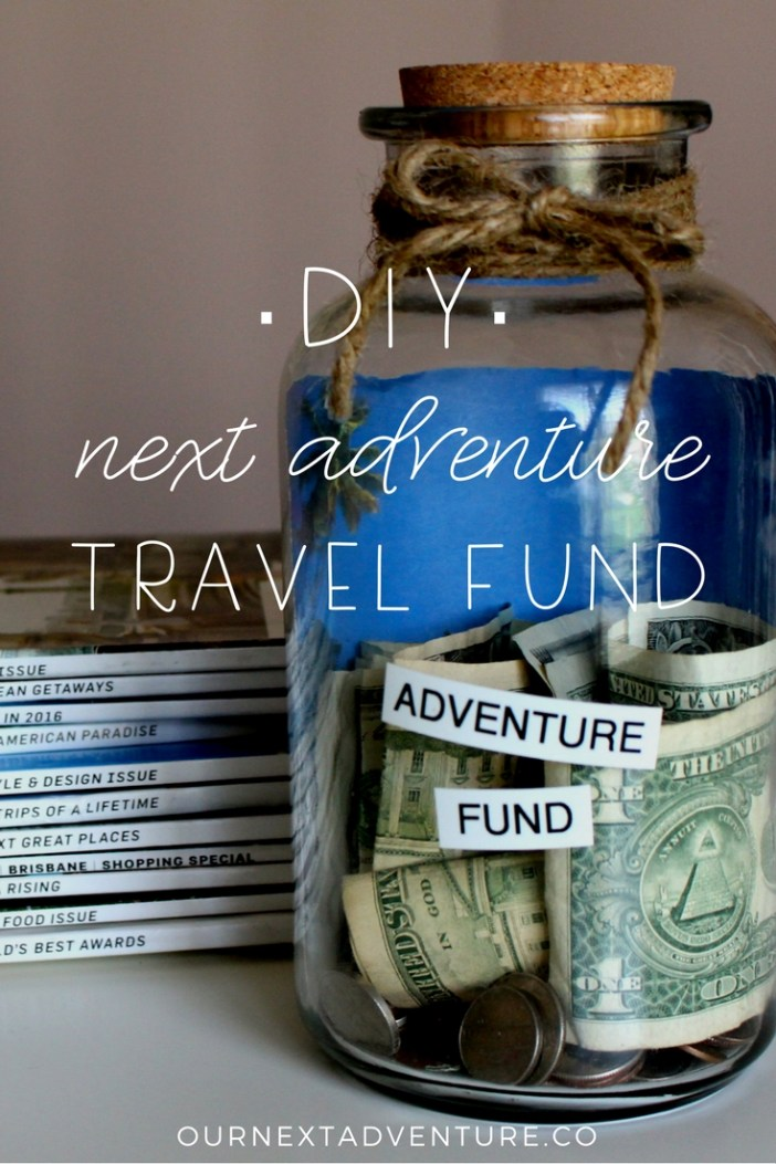 Start a DIY travel fund and watch your money grow! // How to Afford Family Travel | Cheap Travel with Kids | Travel Savings | DIY Savings Jar | Save for Travel