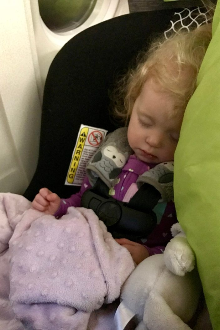 How to handle the effects of jet lag in kids. Because it wasn't the long flight to Europe that scared me, it was how our toddler would feel afterwards! // Flying with Kids | Overseas Jetlag | Long-Haul Flight