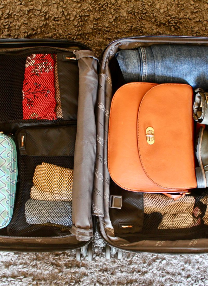 10 tips to help you travel light, even with kids. // Family Travel   Travel with Kids   Packing Guide   Capsule Wardrobe   Packing Cubes   Carry On Packing   What to Pack   Flying with Baby   Traveling with Toddler   Flying with Kids