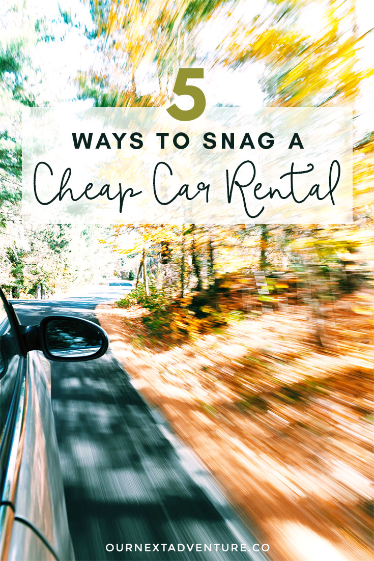 Follow these tips to find cheap car rentals when you travel and save money. #familytravel #traveltips #budgettravel // Family Travel | Travel with Kids | Cheap Rental Cars | Rental Car Tips | Budget Travel | Save Money on Travel | How to Afford Family Travel | Budget Rentals | Cheap Travel Advice | Affordable Family Travel
