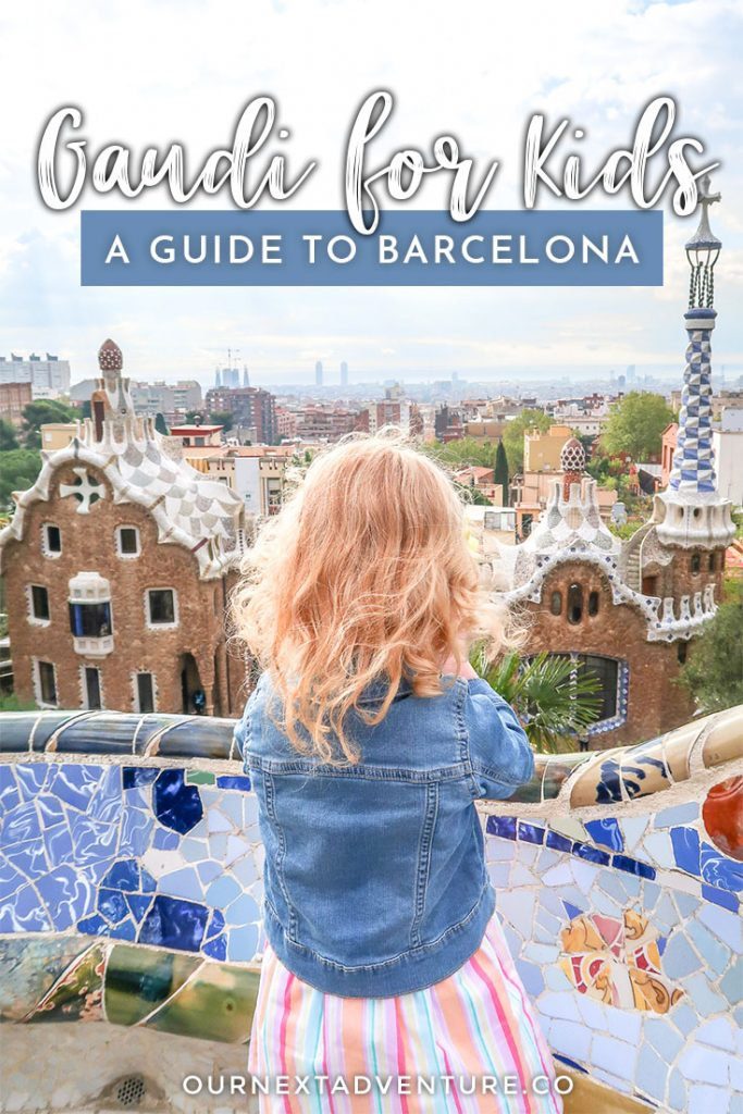 Gaudi for Kids: How to see Gaudi's most popular buildings in Barcelona with kids. #barcelona #spain #europetravel #familytravel #gaudi // Best Gaudi Buildings | Barcelona with Kids | Sagrada Familia Tickets | Casa Mila | Casa Batllo | Park Guell with Kids | Where to Find | Guided Tour | Free Walking Tour | Family Tours | Barcelona Kids Tours | Antoni Gaudi Books | Barcelona Guide | Things to Do in Barcelona | Family-Friendly Barcelona