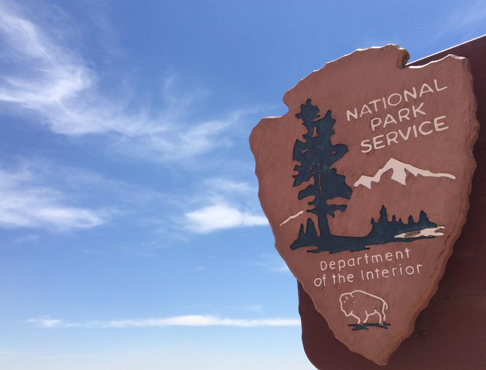 national-park-service-sign