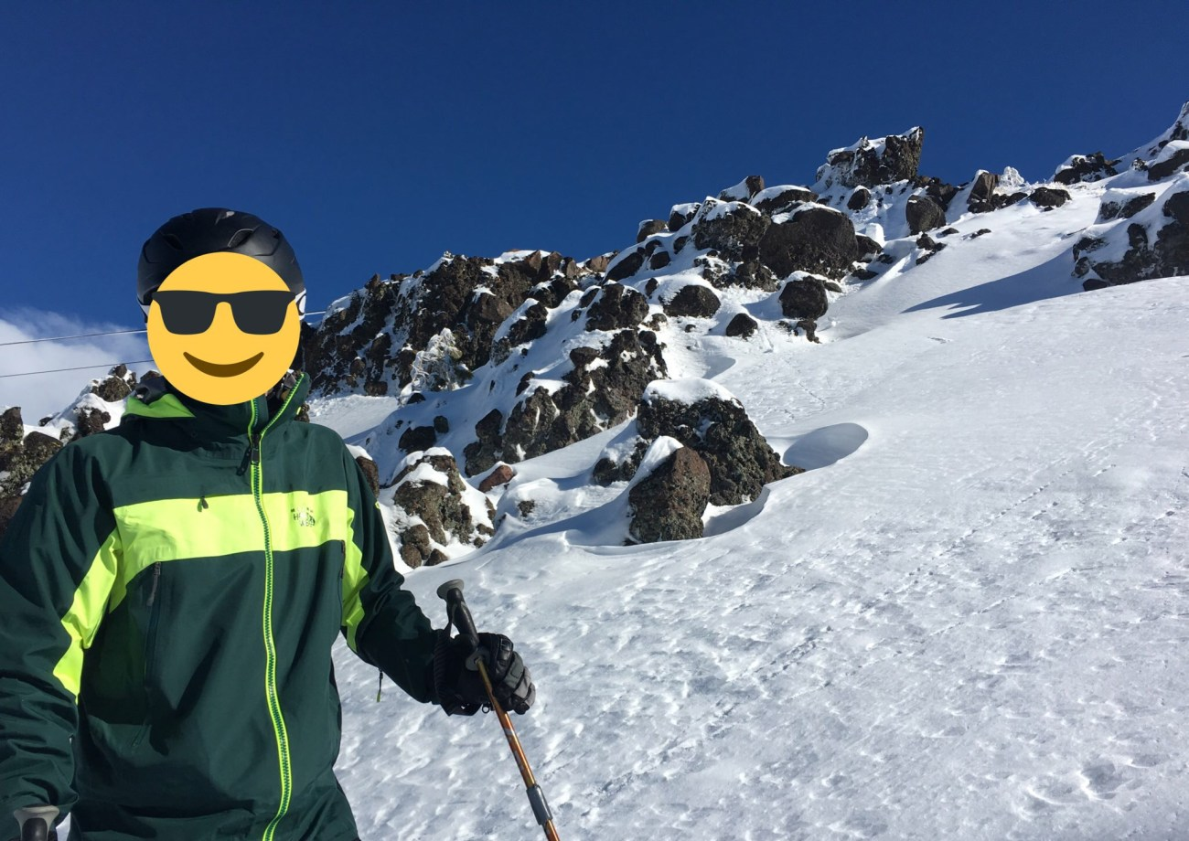 Mr. ONL skiing