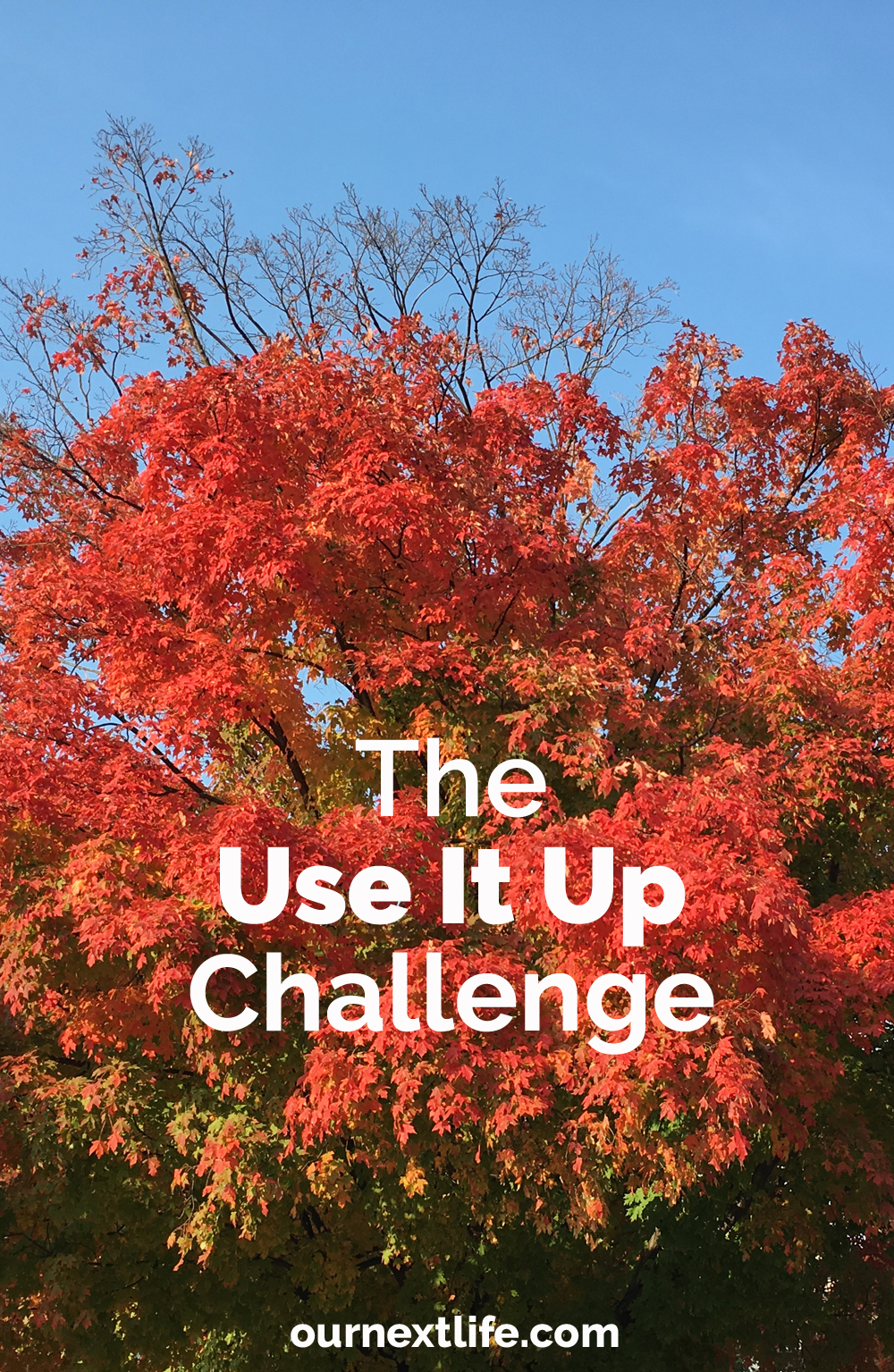 The Use It Up Challenge // Becoming more conscious of the full lifecycle of the things we buy, reducing waste, consuming less