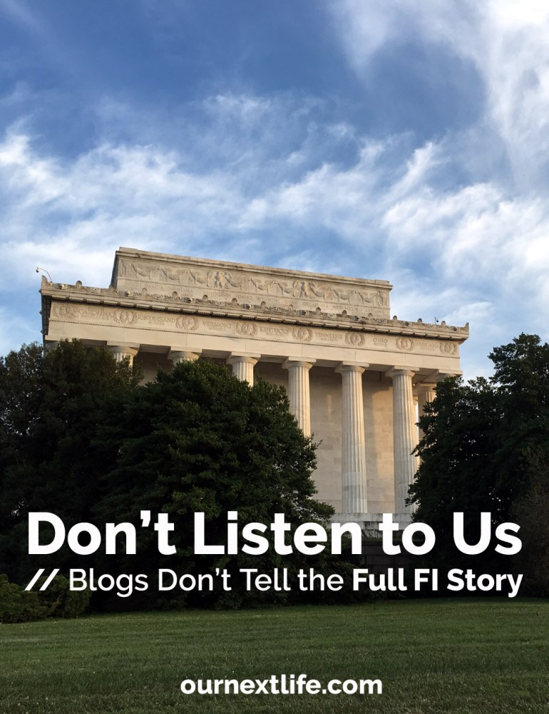 Don't Listen to FI Blogs // Blogs Don't Tell the Full Financial Independence Story