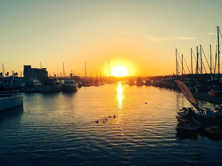 San Diego Marina // FinCon16 // Sunset