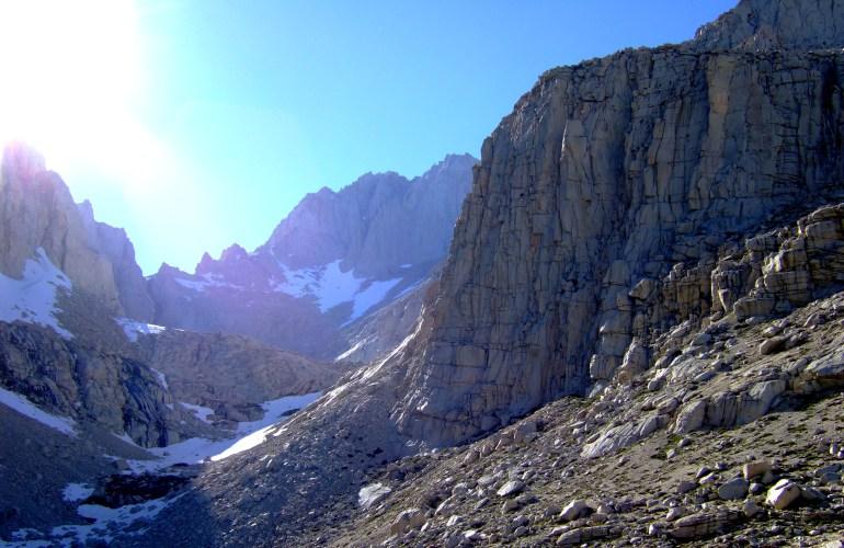 Mt Russell in the Eastern Sierra