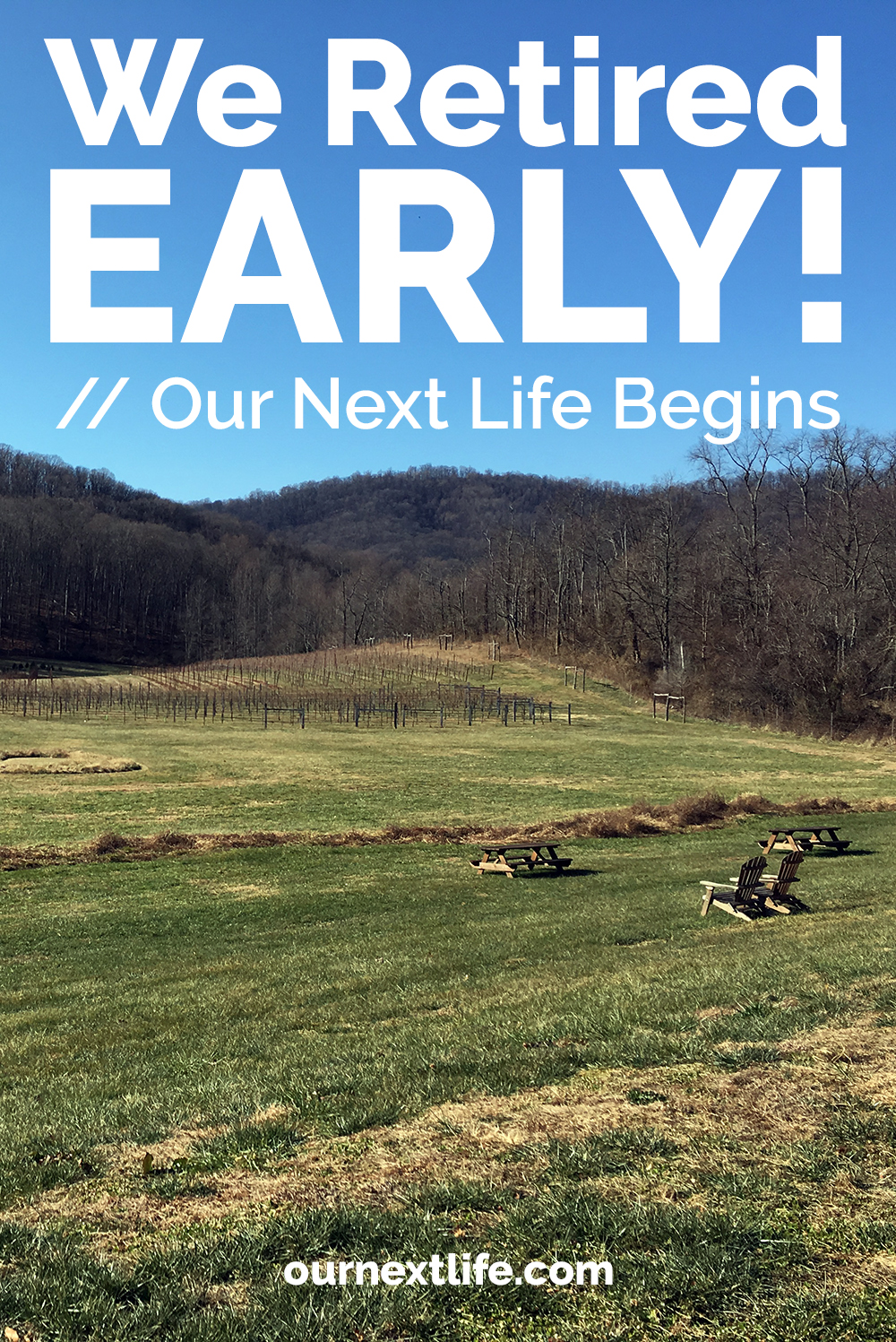 We retired early! Our Next Life begins -- We achieved early retirement at the ages of 38 and 41, and now we begin the next chapter!