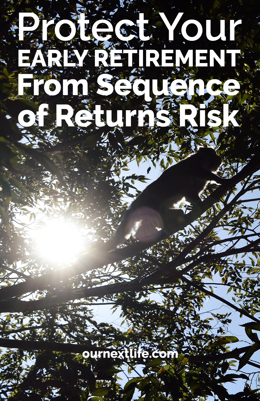Protect your early retirement from sequence of returns risk // Our Next Life // early retirement, financial independence, investing, financial planning, retirement