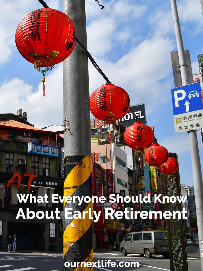 What everyone should know about early retirement and financial independence // Our Next Life // early retirement blog, financial independence blog