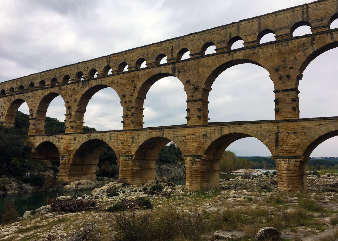 Pont du Gard, France // The Downsides of Off-Peak Travel // Our Next Life, early retirement, financial independence, FIRE, retire early, work optional