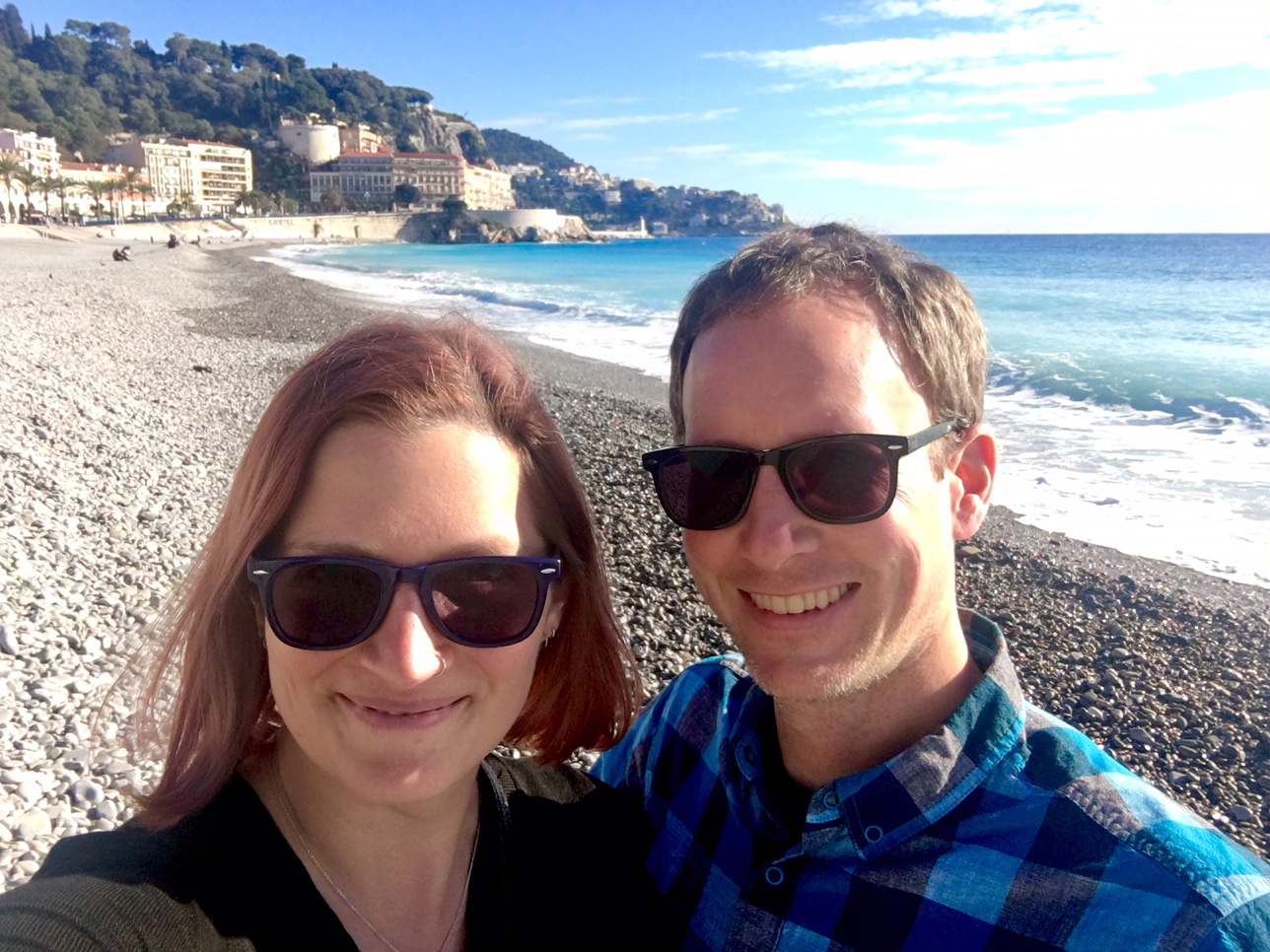 Beach in Nice, France // The Downsides of Off-Peak Travel // Our Next Life, early retirement, financial independence, FIRE, retire early, work optional