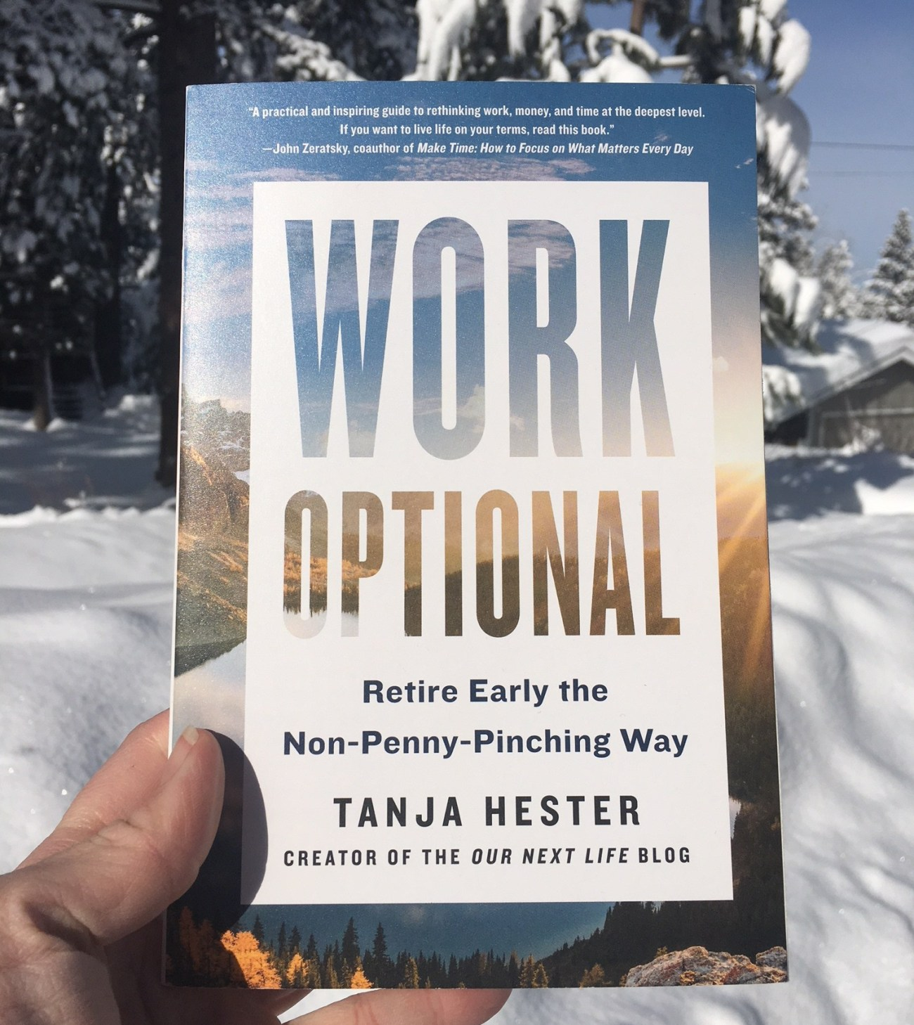 Work Optional: Retire Early the Non-Penny-Pinching Way by Tanja Hester