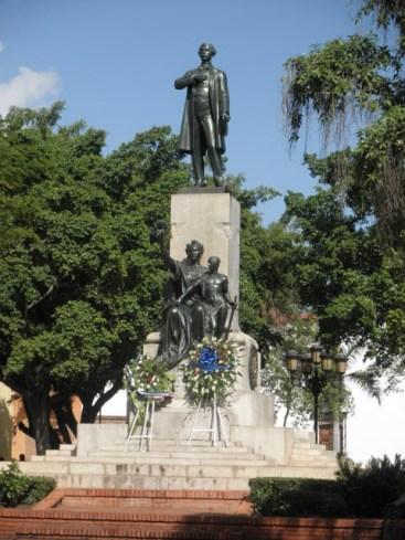 Duarte Park Statue