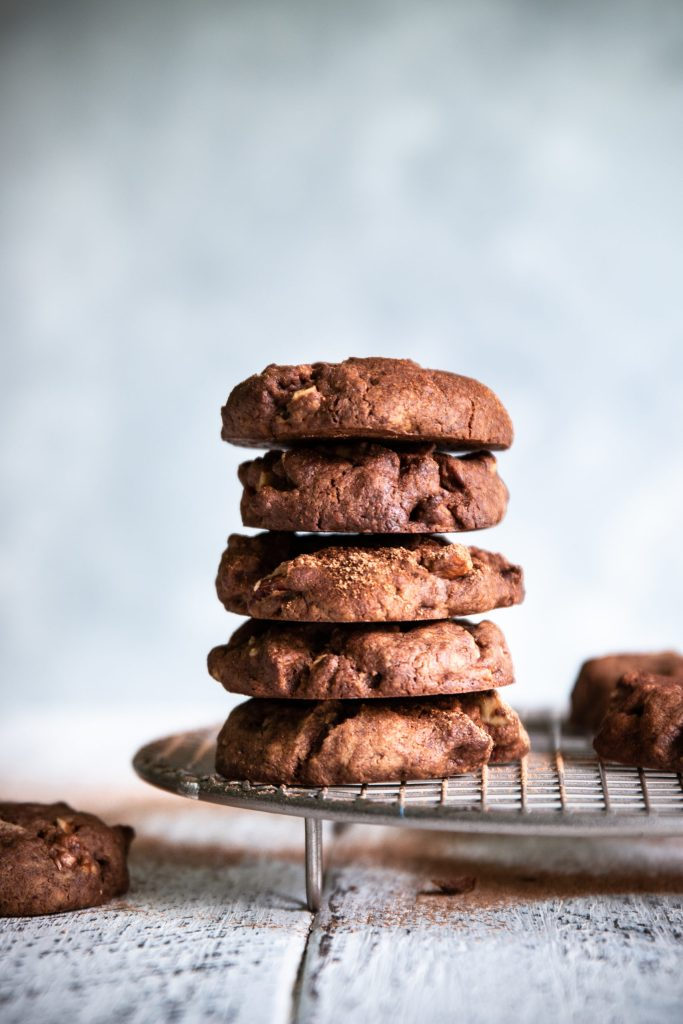 gluten free, egg free, dairy free, gluten free biscuit recipe, vegan chocolate biscuits, chocolate pecan biscuits, choc pecan biscuits, vegan snack recipes