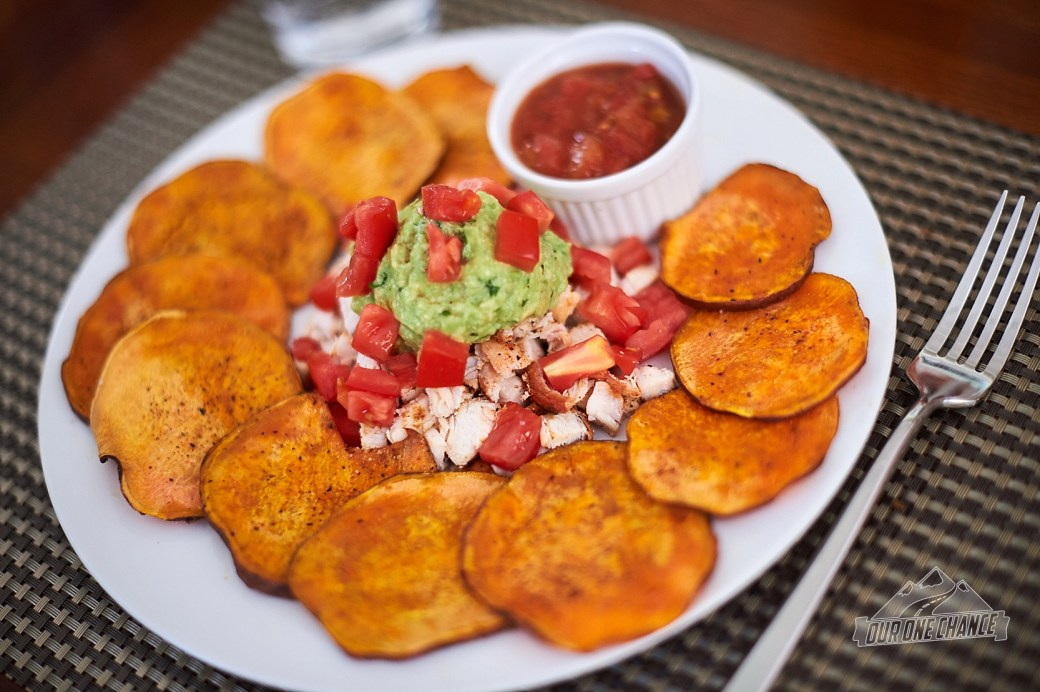 Sweet Potato Nachos | Our One Chance