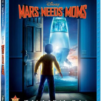 Disney MARS NEEDS MOMS on BluRay Movie