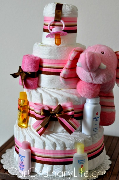 I Just Think Receiving A Diaper Cake Is Such Great Gift For An Expecting Mom Whether Its Baby Shower Or Birthday The