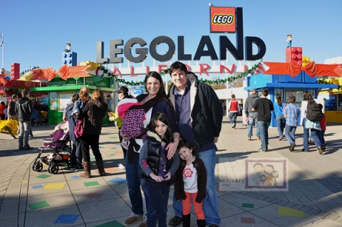 Family Picture LEGOLAND California San Diego