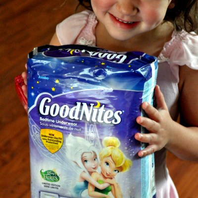 Our GoodNites Underwear Under Cover Mission Is Almost Complete