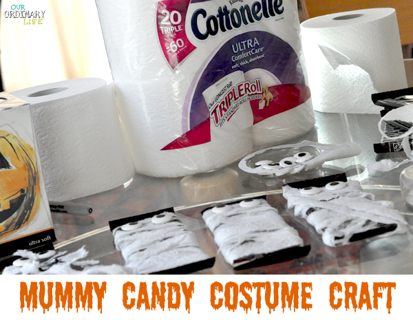 mummy candy costume craft mummy toilet paper