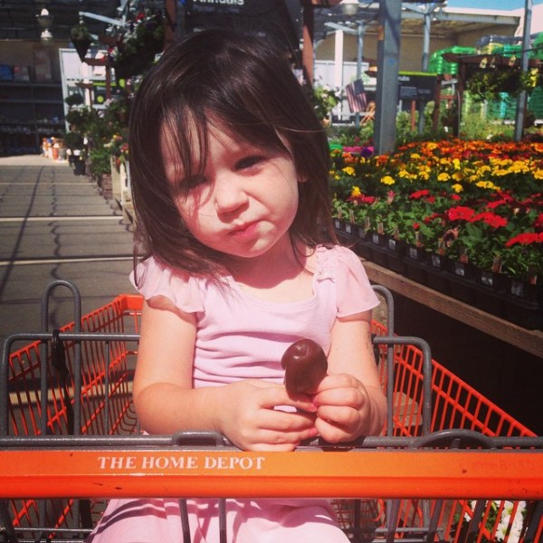 home depot shopping